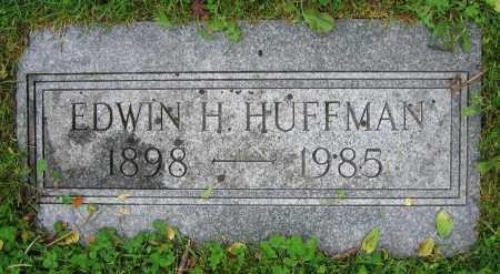 HUFFMAN, EDWIN H. - Clark County, Ohio | EDWIN H. HUFFMAN - Ohio Gravestone Photos