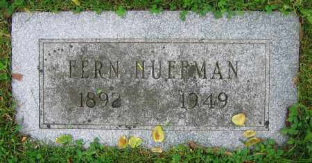 HUFFMAN, FERN - Clark County, Ohio | FERN HUFFMAN - Ohio Gravestone Photos