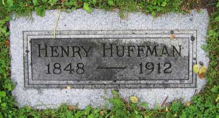 HUFFMAN, HENRY - Clark County, Ohio | HENRY HUFFMAN - Ohio Gravestone Photos