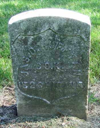 HUFFMAN, JAS. D. - Clark County, Ohio | JAS. D. HUFFMAN - Ohio Gravestone Photos