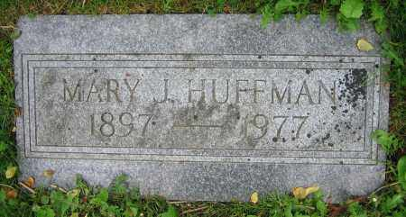 HUFFMAN, MARY J. - Clark County, Ohio | MARY J. HUFFMAN - Ohio Gravestone Photos
