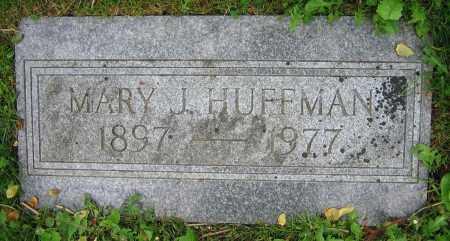 HUFFMAN, MARY J. - Clark County, Ohio | MARY J. HUFFMAN - Ohio Gravestone Photos