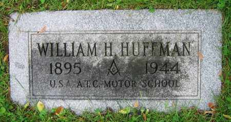 HUFFMAN, WILLIAM H. - Clark County, Ohio | WILLIAM H. HUFFMAN - Ohio Gravestone Photos
