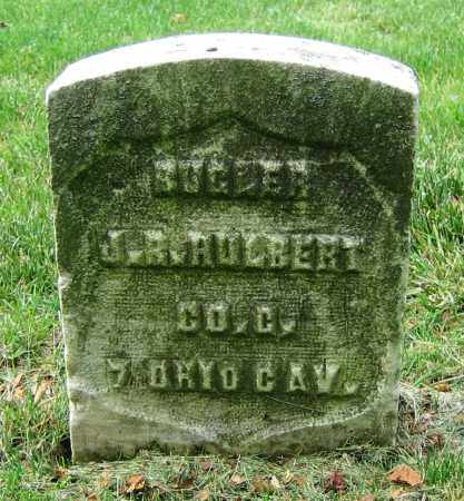 HULBERT, J.R. - Clark County, Ohio | J.R. HULBERT - Ohio Gravestone Photos