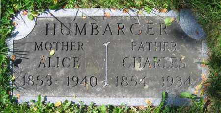 HUMBARGER, ALICE - Clark County, Ohio   ALICE HUMBARGER - Ohio Gravestone Photos