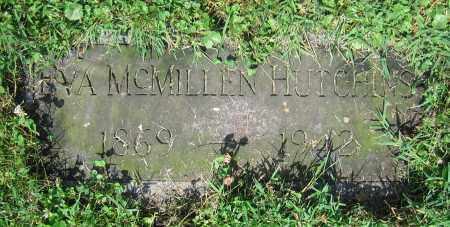 MCMILLEN HUTCHINS, EVA - Clark County, Ohio | EVA MCMILLEN HUTCHINS - Ohio Gravestone Photos