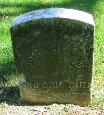 HUTCHISON, ENOCH - Clark County, Ohio | ENOCH HUTCHISON - Ohio Gravestone Photos