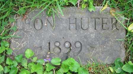 HUTER, LEON - Clark County, Ohio | LEON HUTER - Ohio Gravestone Photos