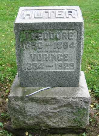 HUTER, VORINGE - Clark County, Ohio | VORINGE HUTER - Ohio Gravestone Photos