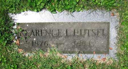 HUTSEL, CLARENCE L. - Clark County, Ohio | CLARENCE L. HUTSEL - Ohio Gravestone Photos