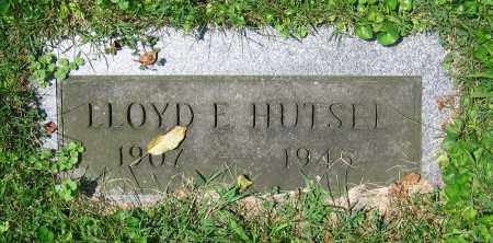 HUTSEL, LLOYD E. - Clark County, Ohio | LLOYD E. HUTSEL - Ohio Gravestone Photos