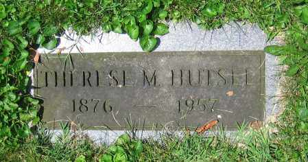 HUTSEL, THERESE M. - Clark County, Ohio | THERESE M. HUTSEL - Ohio Gravestone Photos