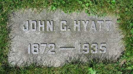 HYATT, JOHN G. - Clark County, Ohio | JOHN G. HYATT - Ohio Gravestone Photos