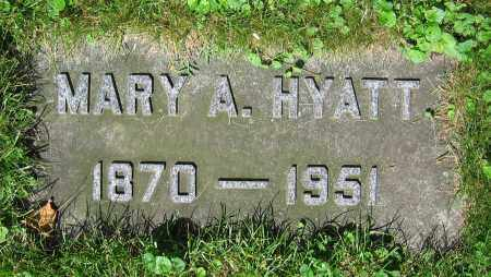 HYATT, MARY A. - Clark County, Ohio | MARY A. HYATT - Ohio Gravestone Photos