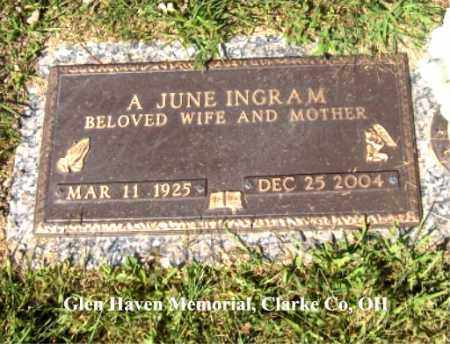 "INGRAM, ADRIAN ""JUNE"" - Clark County, Ohio 
