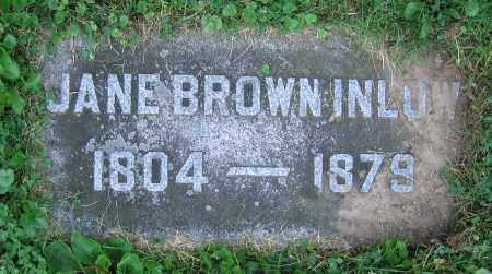 INLOW, JANE - Clark County, Ohio | JANE INLOW - Ohio Gravestone Photos
