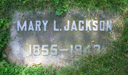 JACKSON, MARY L. - Clark County, Ohio | MARY L. JACKSON - Ohio Gravestone Photos