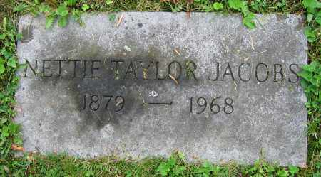 JACOBS, NETTIE - Clark County, Ohio | NETTIE JACOBS - Ohio Gravestone Photos
