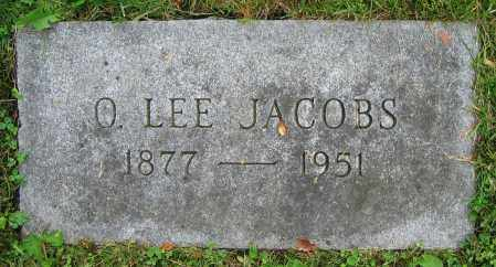 JACOBS, O. LEE - Clark County, Ohio | O. LEE JACOBS - Ohio Gravestone Photos