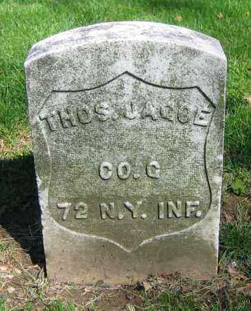 JAGOE, THOS. - Clark County, Ohio | THOS. JAGOE - Ohio Gravestone Photos