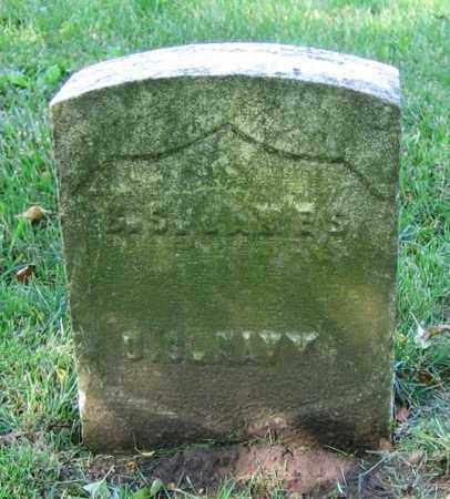 JAMES, B.S. - Clark County, Ohio   B.S. JAMES - Ohio Gravestone Photos