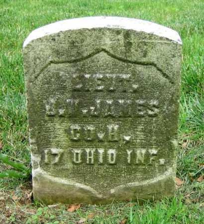 JAMES, J.W. - Clark County, Ohio | J.W. JAMES - Ohio Gravestone Photos