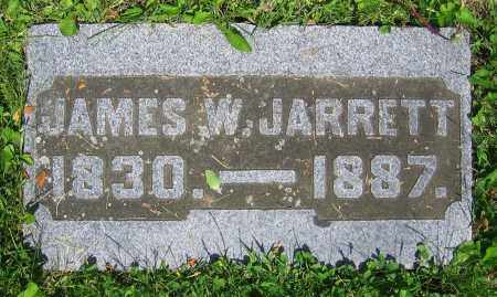 JARRETT, JAMES W. - Clark County, Ohio | JAMES W. JARRETT - Ohio Gravestone Photos