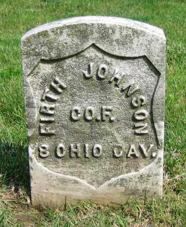 JOHNSON, FIRTH - Clark County, Ohio | FIRTH JOHNSON - Ohio Gravestone Photos