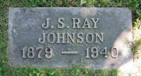 JOHNSON, J.S. RAY - Clark County, Ohio | J.S. RAY JOHNSON - Ohio Gravestone Photos