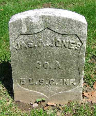 JONES, JAS. A. - Clark County, Ohio | JAS. A. JONES - Ohio Gravestone Photos