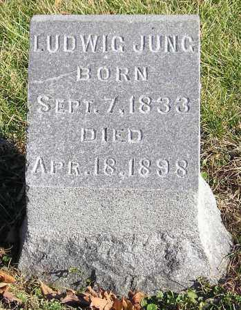 JUNG, LUDWIG - Clark County, Ohio | LUDWIG JUNG - Ohio Gravestone Photos