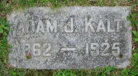 KALT, ADAM J. - Clark County, Ohio | ADAM J. KALT - Ohio Gravestone Photos