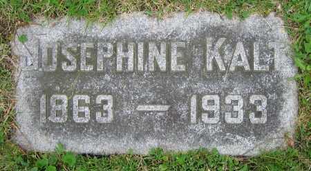 KALT, JOSEPHINE - Clark County, Ohio | JOSEPHINE KALT - Ohio Gravestone Photos