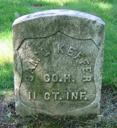 KEFFER, SAM'L - Clark County, Ohio | SAM'L KEFFER - Ohio Gravestone Photos