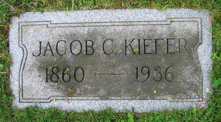 KIEFER, JACOB C. - Clark County, Ohio | JACOB C. KIEFER - Ohio Gravestone Photos