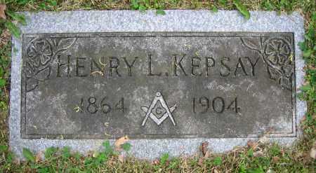KEPSAY, HENRY L. - Clark County, Ohio | HENRY L. KEPSAY - Ohio Gravestone Photos