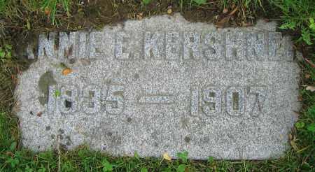 KERSHNER, ANNIE E. - Clark County, Ohio | ANNIE E. KERSHNER - Ohio Gravestone Photos