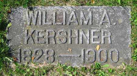 KERSHNER, WILLIAM A. - Clark County, Ohio | WILLIAM A. KERSHNER - Ohio Gravestone Photos