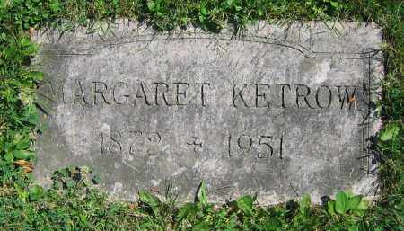 KETROW, MARGARET - Clark County, Ohio | MARGARET KETROW - Ohio Gravestone Photos