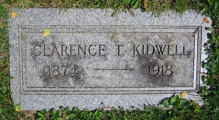 KIDWELL, CLARENCE T. - Clark County, Ohio | CLARENCE T. KIDWELL - Ohio Gravestone Photos