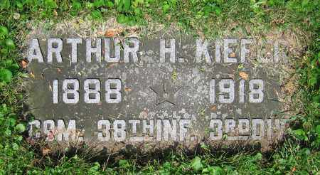 KIEFER, ARTHUR H. - Clark County, Ohio | ARTHUR H. KIEFER - Ohio Gravestone Photos