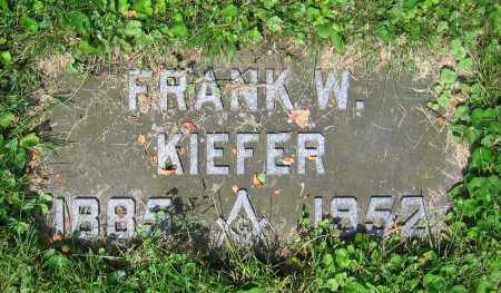 KIEFER, FRANK W. - Clark County, Ohio | FRANK W. KIEFER - Ohio Gravestone Photos
