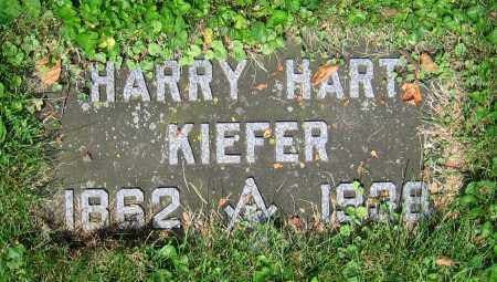 KIEFER, HARRY HART - Clark County, Ohio | HARRY HART KIEFER - Ohio Gravestone Photos
