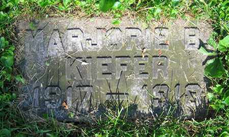 KIEFER, MARJORIE B. - Clark County, Ohio | MARJORIE B. KIEFER - Ohio Gravestone Photos