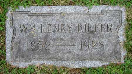 KIEFER, WM. HENRY - Clark County, Ohio | WM. HENRY KIEFER - Ohio Gravestone Photos