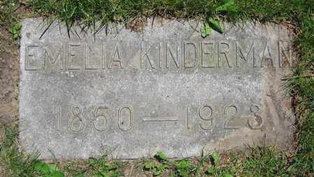 KINDERMAN, EMELIA - Clark County, Ohio | EMELIA KINDERMAN - Ohio Gravestone Photos
