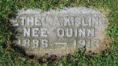 KISLING, ETHEL A. - Clark County, Ohio | ETHEL A. KISLING - Ohio Gravestone Photos