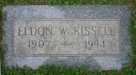 KISSELL, ELDON W. - Clark County, Ohio | ELDON W. KISSELL - Ohio Gravestone Photos
