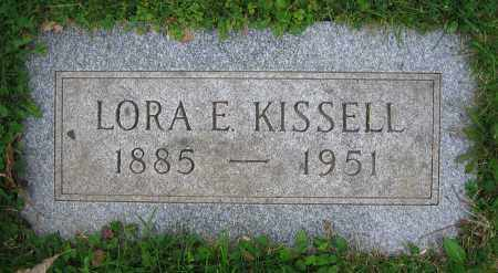 KISSELL, LORA E. - Clark County, Ohio | LORA E. KISSELL - Ohio Gravestone Photos