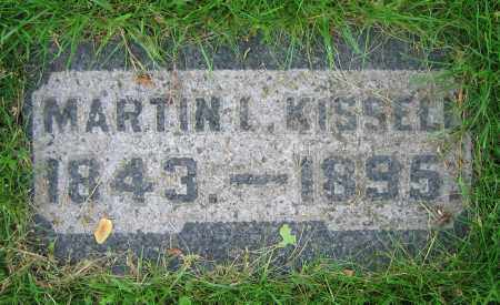 KISSELL, MARTIN L. - Clark County, Ohio | MARTIN L. KISSELL - Ohio Gravestone Photos